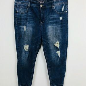 Melissa McCarthy Jeans - Melissa McCarthy Seven 7 Jean Pant Pencil Sz: 20W